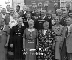 JG 1892 60-Jahrfeier