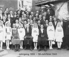 JG 1893 50-Jahrfeier 1943 mit Pfr Umenhof