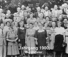 JG 1900 50-Jahrfeier