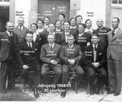 JG 1904/05 50-Jahrfeier