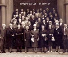 JG 1904/05 60-jahrfeier