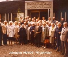 JG 1905/06 75-Jahrfeier 1981