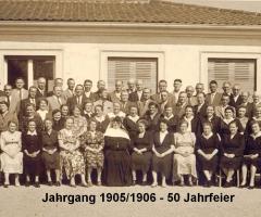 JG 1905/06 50-Jahrfeier 1956