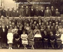 JG 1905 60-jährige Kommunion 1974