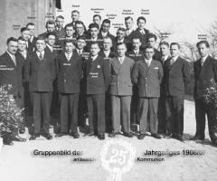 JG 1906/07 25-jährige Kommunion