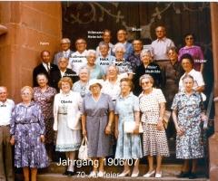 JG 1906/07 70-Jahrfeier