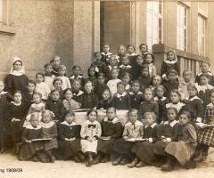 JG 1908/09 Schulklasse Mädchen