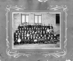 JG 1911/12 mit Lehrer Klug