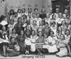 JG 1921/22 Mädchen 1932