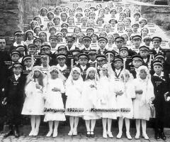 JG 1922/23 Kommunion 1933