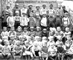 JG 1925/26/27 im Kindergarten