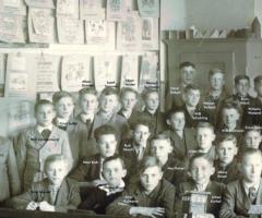 JG 1928/29/30 Klassenzimmer Ausschnitt