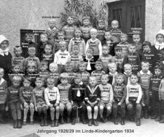 JG 1928/29 Kindergarten 1934
