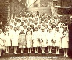 JG 1931 Kommunion Mädchen 1940