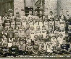 JG 1932/33/34 Kinderschule