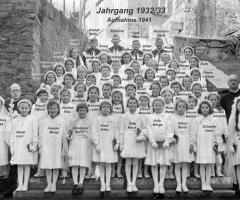 JG 1932/33 Kommunion Mädchen 1941