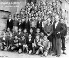 JG 1934/35 Aufnahme 1948