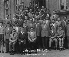 JG 1941/42 Schulabschluss 1956