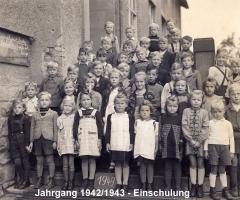 JG 1942/43 Einschulung 1949