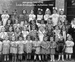JG 1944/45/46 Mädchen Linde-Kindergarten