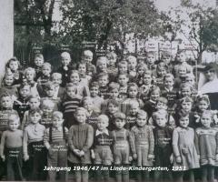 JG 1946/47 Linde-Kindergarten 1951