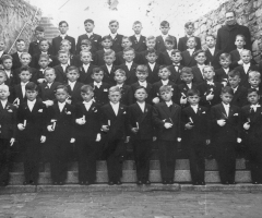 JG 1948/49 Kommunion Buben