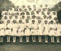 JG 1948/49 Kommunion Mädchen