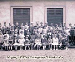 JG 1953/54 Kindergarten