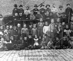 Dorfkinder 1910