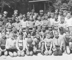 Schulausflug Kinder Fussball