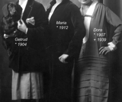 Amersbach Gertrud, Maria u. Dora