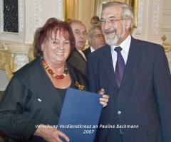 Bachmann Paulina Verdienstkreuz 2007