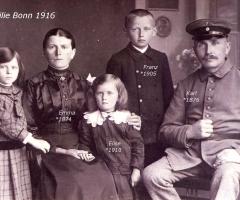 Bonn Karl mit Familie 1916