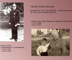 Brunner Anton und Anna geb Gleixner