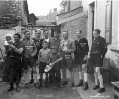 Danninger Karl, Elbert Theo, Schadler Toni, Becker Anton - 1934