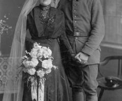 Elbert Anna und Sebastian Hochzeit 1916