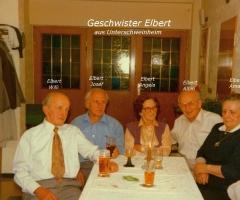 Elbert Geschwister Willi Josef Angela Albin Amalia aus Unterhainstr