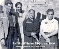 Elbert Wilhelm Seebornstr ca 1940