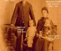 Herold Alois mit Familie Aschaffenburger Str