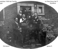 Hettinger Syndikus Sylvesterfeier 1929
