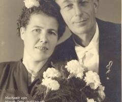 Hirsch Otto Lisbeth Hochzeit