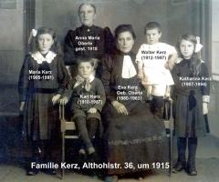 Kerz Familie Althohlstr 36 1914