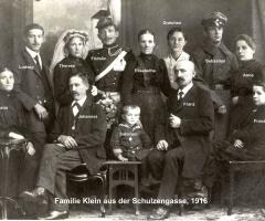 Klein Schulzengasse  Familie 1916