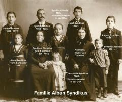 Syndikus Alban Familie 1868 - 1972