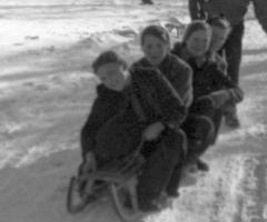 Winter Fertig Elisabeth Oberle Brigitte Inge Elbert Elisabeth Elbert Schnee