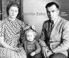 Zahn Eduard mit Familie 1948