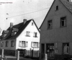 Lebensmittelgeschäft Maier Gretel Hensbachstr 1960