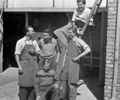 Schreinerei Englert um 1950 (2)