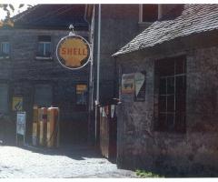 Tankstelle der Marienstrasse um 1960