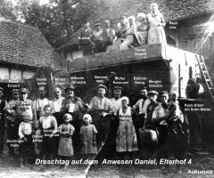 Daniel Elterhof Dreschtag 1925
